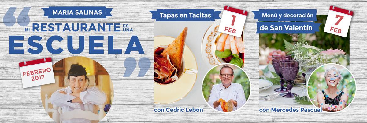 Taller de cocina en maria salinas restaurant mallorca for Escuela de cocina mallorca